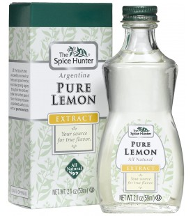 Spice Hunter Pure Lemon Extract (6x2Oz)