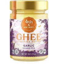 4th & Heart Ghee Butter California Garlic (6x9 OZ)