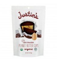 Justin's Organic Dark Chocolate Peanut Butter Cups (6x4.7 OZ)