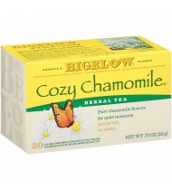 Bigelow Cozy Chamomile Herb Tea (6x20 Bag)