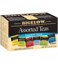 Bigelow 6 Assorted Teas (6x18 Bag )
