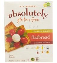 Absolutely Gluten Free Flatbread Toasted Onion (12x5.29Oz)