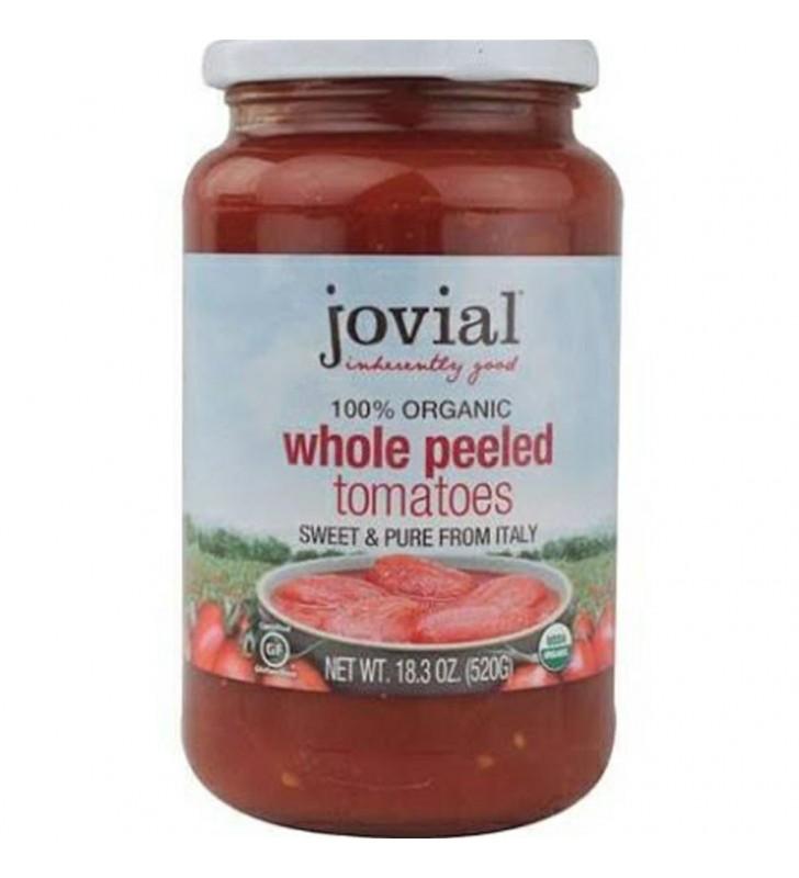 Jovial Whole Peeled Tomatoes (6x18.3 Oz)