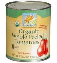 Bionaturae Whole Peeled Tomatoes (12x28.2 Oz)