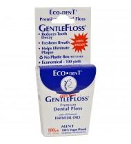 Eco-Dent Gentle Floss Dental Floss (6x100 YD)