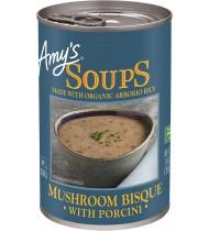 Amy's Mushroom Bisque w/Porcini (12x14OZ )